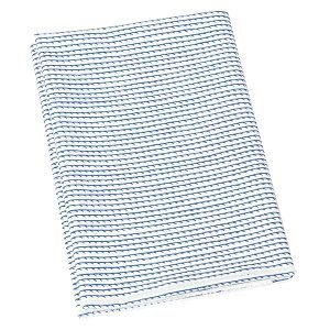 Artek Rivi Canvas Puuvillakangas Valkoinen / Sininen 150x300 Cm