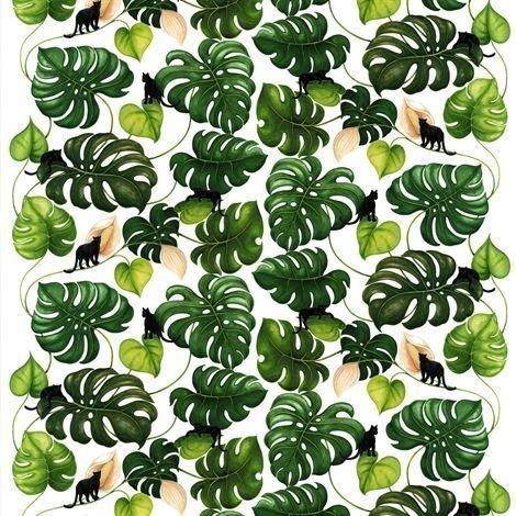 Arvidssons Textil Catwalk Kangas Vihreä