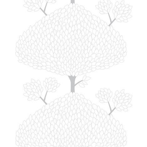 Arvidssons Textil Tusenblad Kangas Valkoinen