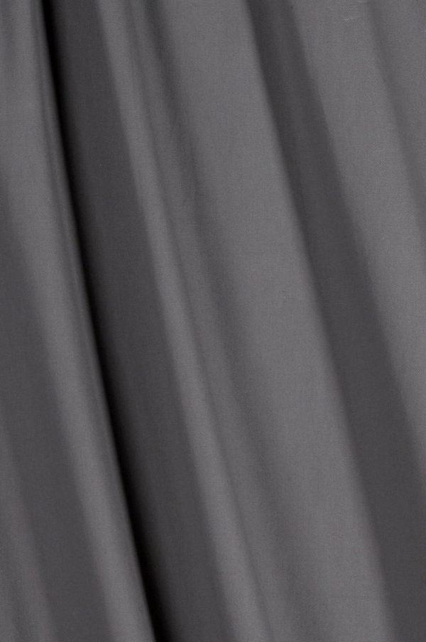 Ellos Puuvillainen Puolipanamakangas / M Leveys Harmaa 120 Cm
