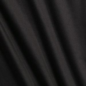 Ellos Puuvillainen Puolipanamakangas / M Leveys Musta 120 Cm