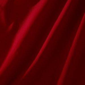 Ellos Puuvillainen Puolipanamakangas / M Leveys Punainen 120 Cm