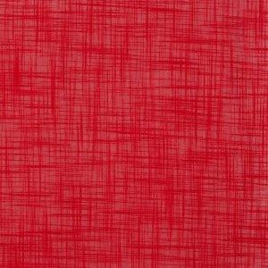 Ellos Struktur Puuvillakangas / M Punainen